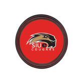 Round Coaster Frame w/Insert-SIUE Cougars Official Logo