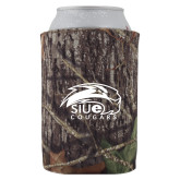 Collapsible Mossy Oak Camo Can Holder-SIUE Cougars Official Logo