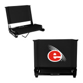Stadium Chair Black-e Slash Mark