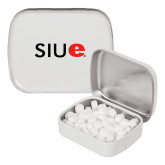White Rectangular Peppermint Tin-SIUE