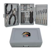 Compact 26 Piece Deluxe Tool Kit-SIUE Cougars Official Logo