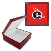 Red Mahogany Accessory Box With 6 x 6 Tile-e Slash Mark