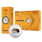 Callaway Warbird Golf Balls 12/pkg-SIUE Cougars Official Logo