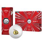 Callaway Chrome Soft Golf Balls 12/pkg-Gold E