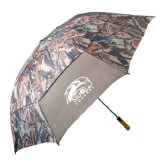 58 Inch Hunt Valley Camo Umbrella-SIUE Cougars Official Logo