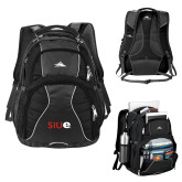 High Sierra Swerve Compu Backpack-SIUE