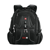 Wenger Swiss Army Mega Black Compu Backpack-SIUE