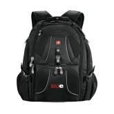 Wenger Swiss Army Mega Black Compu Backpack-SIUE