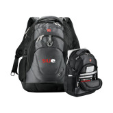 Wenger Swiss Army Tech Charcoal Compu Backpack-SIUE