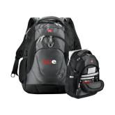 Wenger Swiss Army Tech Charcoal Compu Backpack-SIUE