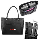 Sophia Checkpoint Friendly Black Compu Tote-SIUE