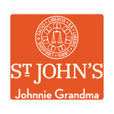Small Decal-Johnnie Grandma, 6 inches wide