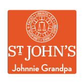 Small Decal-Johnnie Grandpa, 6 inches wide