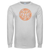 White Long Sleeve T Shirt-Seal