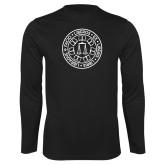 Performance Black Longsleeve Shirt-Seal