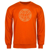Orange Fleece Crew-Seal