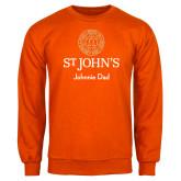Orange Fleece Crew-Johnnie Dad