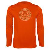Performance Orange Longsleeve Shirt-Seal