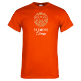 Orange T Shirt-Seal with College Name