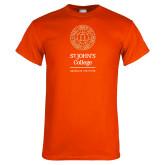Orange T Shirt-Seal Graduate Institute