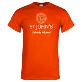 Orange T Shirt-Johnnie Alumni