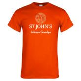 Orange T Shirt-Johnnie Grandpa