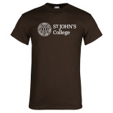 Brown T Shirt-Lock Up Horizontal
