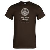 Brown T Shirt-Annapolis Santa Fe