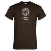 Brown T Shirt-Seal Graduate Institute