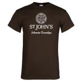 Brown T Shirt-Johnnie Grandpa