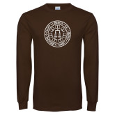 Brown Long Sleeve T Shirt-Seal