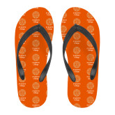 Full Color Flip Flops-Seal with College Name