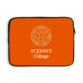 13 inch Neoprene Laptop Sleeve-Seal with College Name