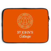 15 inch Neoprene Laptop Sleeve-Seal with College Name