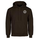 Brown Fleece Hoodie-Seal