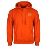 Orange Fleece Hoodie-Seal