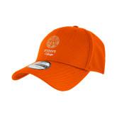 New Era Orange Diamond Era 39Thirty Stretch Fit Hat-Seal with College Name