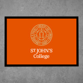 Full Color Indoor Floor Mat-Seal with College Name