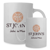 Mom Full Color White Mug 15oz-Johnnie Mom