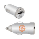 On the Go Silver Car Charger-Seal