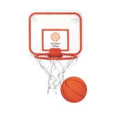 Mini Basketball & Hoop Set-Seal with College Name