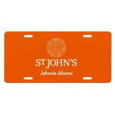 License Plate-Johnnie Alumni