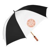 62 Inch Black/White Vented Umbrella-Seal