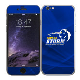 iPhone 6 Skin-New Primary Logo, Background PMS 286 Blue