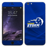 iPhone 6 Plus Skin-New Primary Logo, Background PMS 286 Blue