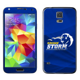 Galaxy S5 Skin-New Primary Logo, Background PMS 286 Blue