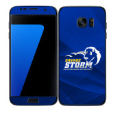 Samsung Galaxy S7 Edge Skin-New Primary Logo, Background PMS 286 Blue