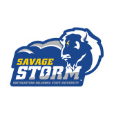 Small Decal-New Primary Logo, 6 inches wide