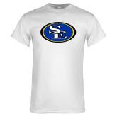 White T Shirt-SE Primary Logo