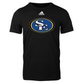 Adidas Black Logo T Shirt-SE Primary Logo